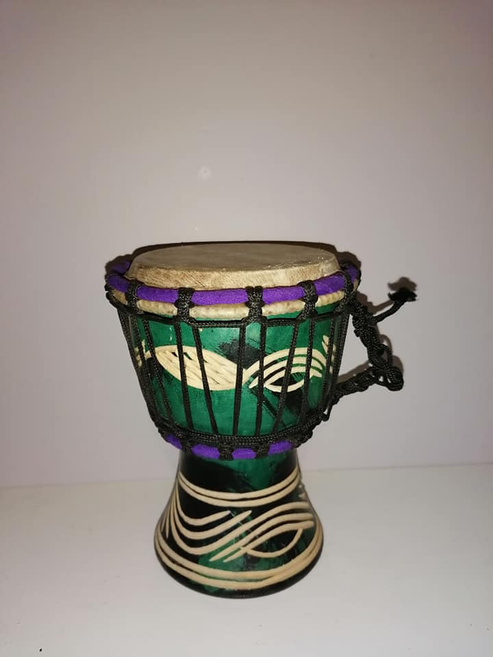 Coloured Afro Drums